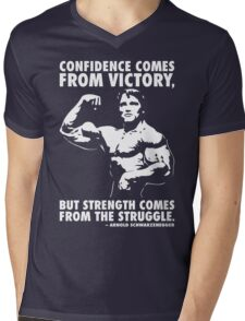 Confidence and Struggle Mens V-Neck T-Shirt