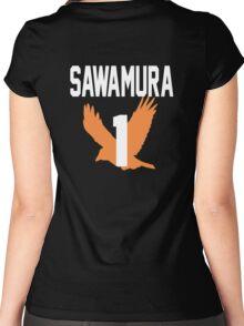 Haikyuu!! Jersey Daichi Number 1 (Karasuno) Women's Fitted Scoop T-Shirt