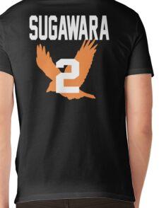 Haikyuu!! JerseySuga Number 2 (Karasuno) Mens V-Neck T-Shirt