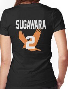Haikyuu!! JerseySuga Number 2 (Karasuno) Womens Fitted T-Shirt