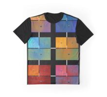 1 to 18 Colorful Rust All Colors Graphic T-Shirt