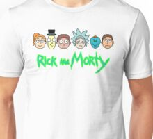 Rick and Morty Pixel Characters  Unisex T-Shirt