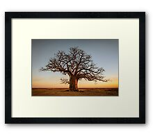 Farewell to the Day Framed Print