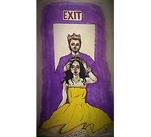 Exit Photographic Print