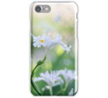 White Iris 3 iPhone Case/Skin