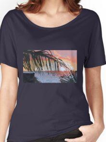 Caribbean sunrise over Atlantic Women's Relaxed Fit T-Shirt