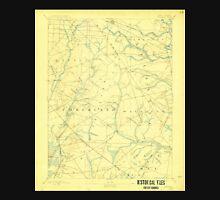 USGS TOPO Map New Jersey NJ Tuckahoe 255408 1893 62500 Unisex T-Shirt
