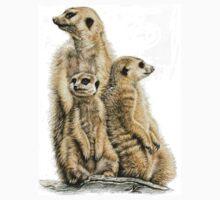 Meerkats Family Kids Tee