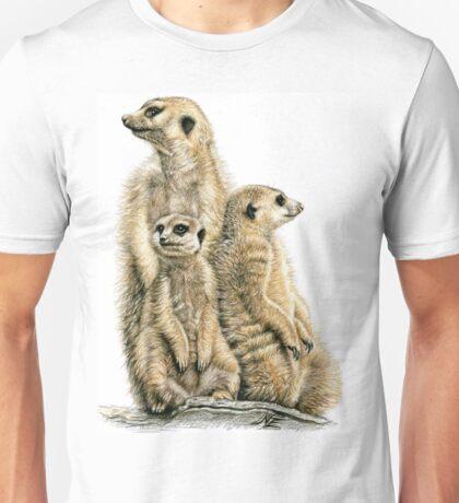 Meerkats Family Unisex T-Shirt