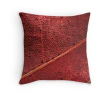 The Changing of the Seasons - Maple Tree Leaf Throw Pillow