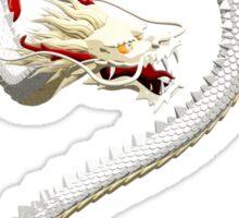 White Dragon Sticker