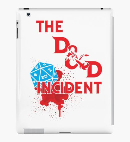The D & D Incident - Dungeons & Dragons iPad Case/Skin
