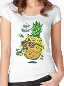 Juicy Juicy Women's Fitted Scoop T-Shirt