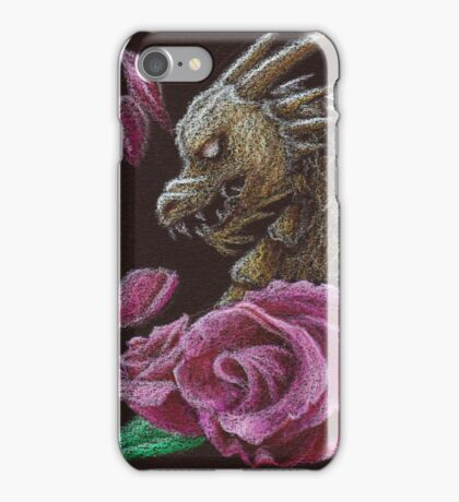 Dragon Roses iPhone Case/Skin