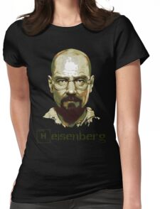 Heisenberg Vector Art Tshirt Womens Fitted T-Shirt