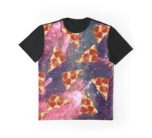 Pizza Space Graphic T-Shirt