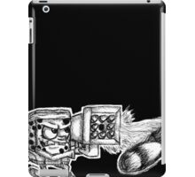 Spongebob with a Missile Launcher - Black Accessories iPad Case/Skin