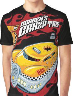 Korben's Crazy Taxi Graphic T-Shirt