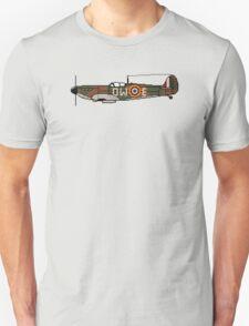 Pixel Spitfire Mk I Unisex T-Shirt