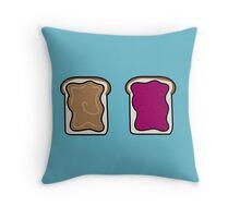 PB&J Throw Pillow