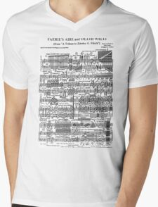 Death Waltz Mens V-Neck T-Shirt