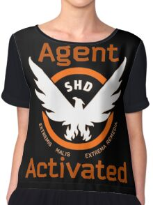 The Division Agent Activated Chiffon Top