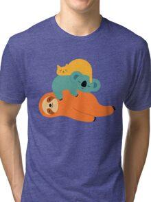 Being Lazy Tri-blend T-Shirt