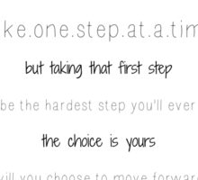 first step~ Sticker