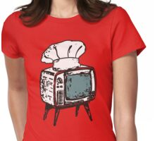 TV chef vintage television chef's hat pop culture Womens Fitted T-Shirt