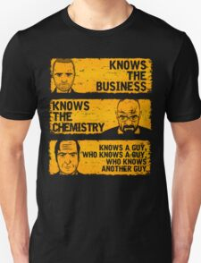 Walter, Jesse and Saul T-Shirt
