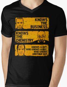 Walter, Jesse and Saul Mens V-Neck T-Shirt