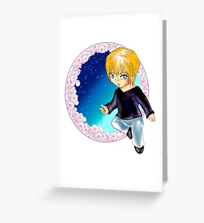 chibi will Greeting Card