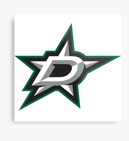 dallas stars Metal Print