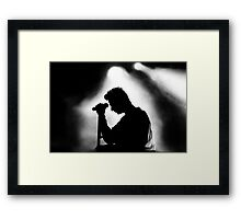 Dave Gahan from 101 Framed Print