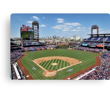 It's A Beautiful Day For A Ballgame  Canvas Print