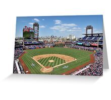 It's A Beautiful Day For A Ballgame  Greeting Card