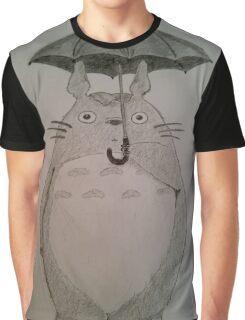 Totoro Fan Art Graphic T-Shirt