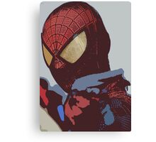 the amazing spider-man Canvas Print