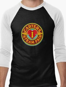 I Love Carters - circle Men's Baseball ¾ T-Shirt
