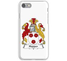 Hopper Coat of Arms / Hopper Family Crest iPhone Case/Skin