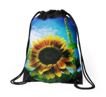 Sunflower Drawstring Bag