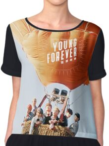 young forever BTS 5 Chiffon Top
