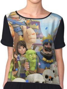 Clash Royale Troops Chiffon Top