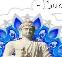 Bhudda's advice Sticker