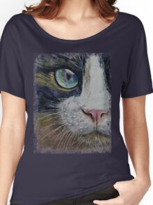 Snowshoe Cat Women's Relaxed Fit T-Shirt