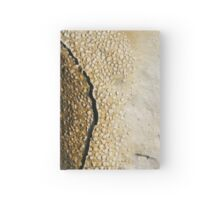 Mont Saint Michel sands boiling and cracking - 2011 Hardcover Journal