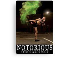 Conor Mcgregor Poster Canvas Print