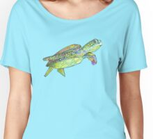 Sea turtle drawing - 2015 Women's Relaxed Fit T-Shirt