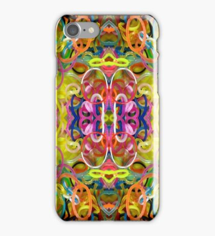 Real Rubber Rubber Bands iPhone Case/Skin