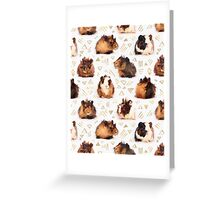 The Essential Guinea Pig Greeting Card